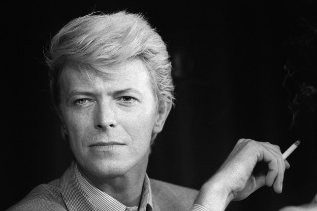 A portrait taken on May 13, 1983 shows British singer David Bowie during a press conference at the 36th Cannes Film Festival