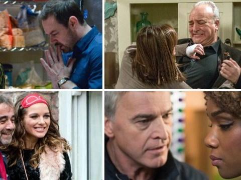 12 soap spoiler pictures: Coronation Street return, EastEnders showdown, Emmerdale goodbye, Hollyoaks injury