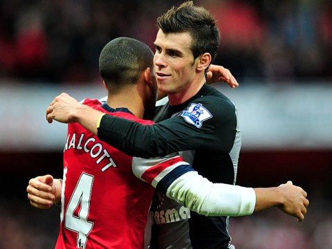 Arsenal star Theo Walcott admits he's surprised at just how much Gareth Bale has improved