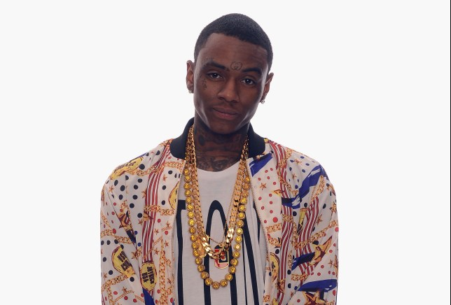 HOLLYWOOD, CA - FEBRUARY 17: Rapper Soulja Boy poses for a portrait in the TV Guide Portrait Studio at the 3rd Annual Streamy Awards at Hollywood Palladium on February 17, 2013 in Hollywood, California. (Photo by Mark Davis/Getty Images for TV Guide)