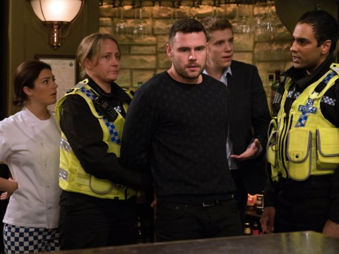 Emmerdale spoilers: Robert Sugden vows to stand by Aaron Dingle following his arrest