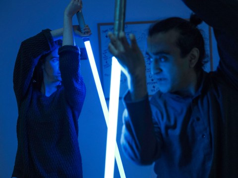Lightsaber martial arts is a thing, and we tried it