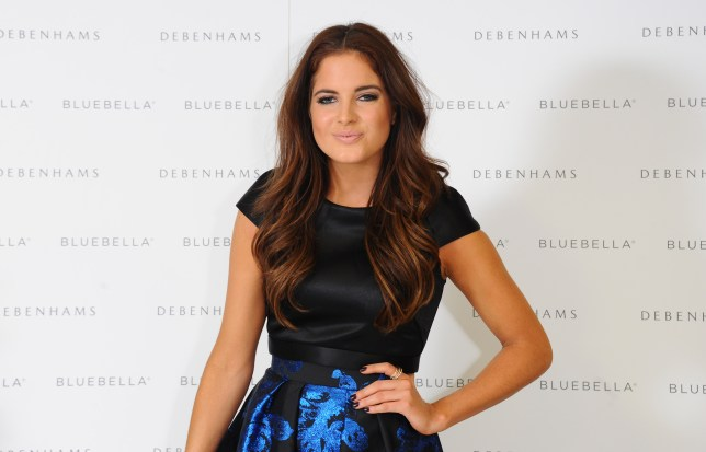 LONDON, ENGLAND - NOVEMBER 19: Binky Felstead attends a photocall to launch Bluebella lingerie at Debenhams on November 19, 2014 in London, England. (Photo by Stuart C. Wilson/Getty Images)
