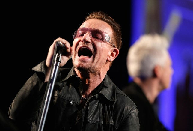 Bono of U2 (Picture: Getty Images)