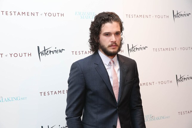 """NEW YORK, NY - JUNE 02: Kit Harington attends """"Testament Of Youth"""" New York premiere at Chelsea Bow Tie Cinemas on June 2, 2015 in New York City. (Photo by Rob Kim/Getty Images)"""
