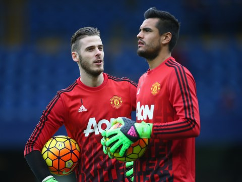 Jose Mourinho insists he wants Manchester United goalkeepers David de Gea and Sergio Romero to stay