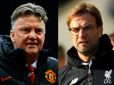 Jurgen Klopp's start at Liverpool is worse than Louis van Gaal's at Manchester United, stats reveal