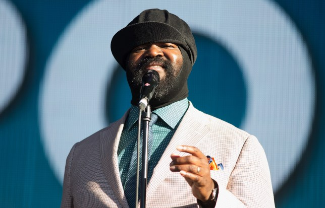 This is why Gregory Porter is wearing that hat when you see