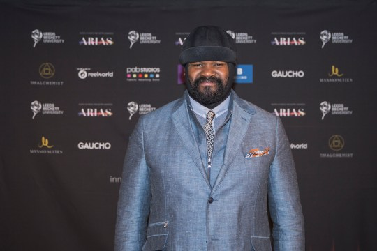 9c9df69db49 This is why Gregory Porter is wearing that hat when you see him ...