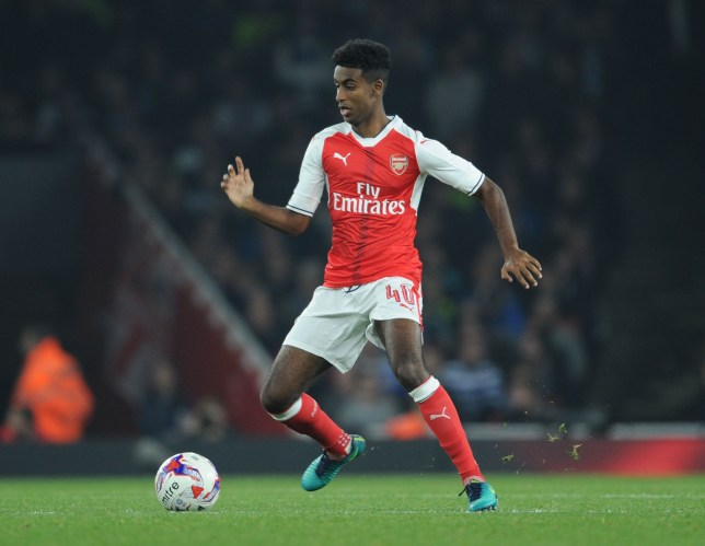 LONDON, ENGLAND - OCTOBER 25: Gedion Zelalem of Arsenal during the EFL Cup Fourth Round match between Arsenal and Reading at Emirates Stadium on October 25, 2016 in London, England. (Photo by Stuart MacFarlane/Arsenal FC via Getty Images)