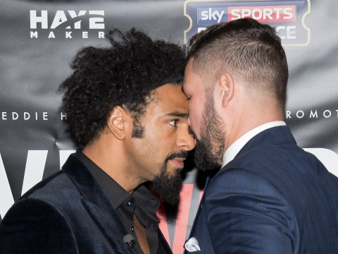 Tony Bellew reveals he got no apology from David Haye at the filming of The Gloves Are Off