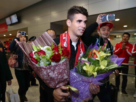 Hulk persuaded Oscar to quit Chelsea for Shanghai SIPG transfer