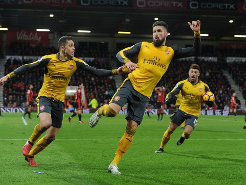 Arsenal's Olivier Giroud criticised by Harry Redknapp for Bournemouth goal celebration