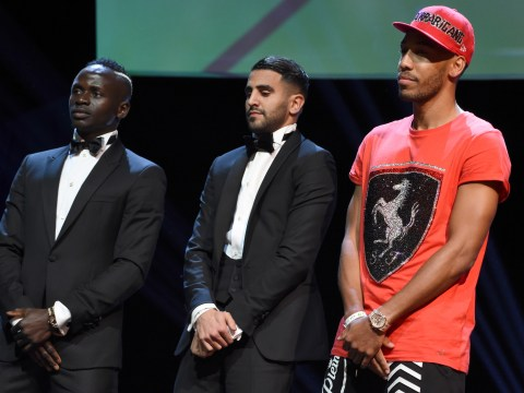Pierre-Emerick Aubameyang lost luggage for CAF awards ceremony
