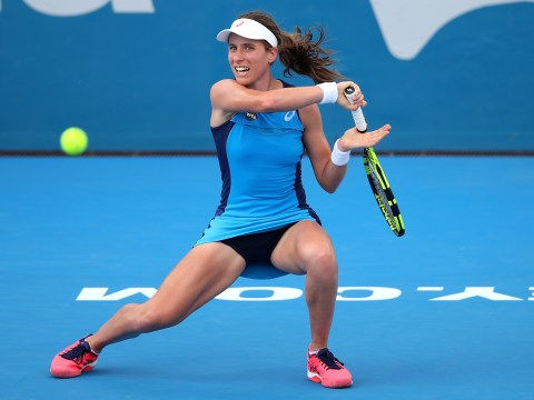 Johanna Konta thumps Eugenie Bouchard to set up Agnieszka Radwanska final in Sydney