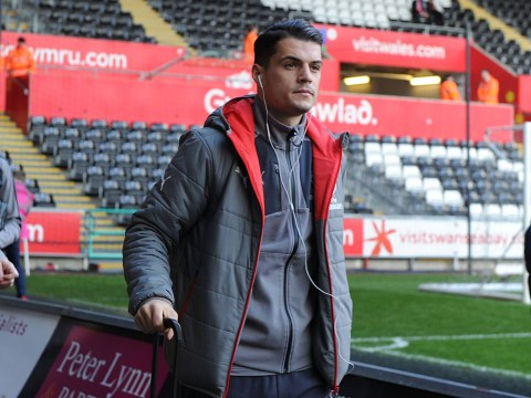 Arsenal star Granit Xhaka spoken to by police after bust-up at Heathrow Airport