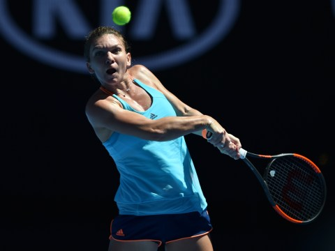 Simona Halep crashes out of Australian Open in shock first-round loss to Shelby Rogers