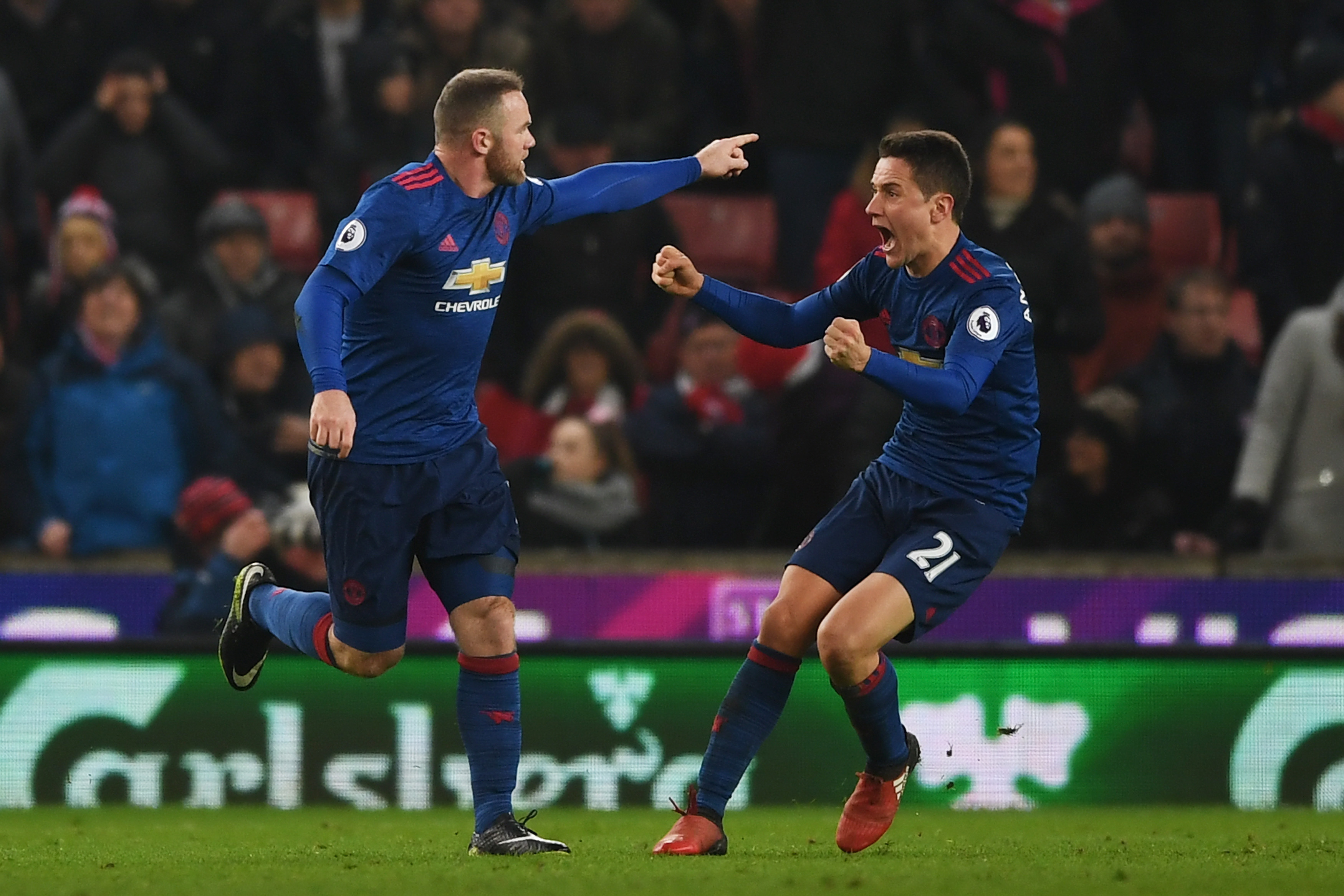 Stoke 1-1 Manchester United player ratings: Wayne Rooney makes history with stunning equaliser