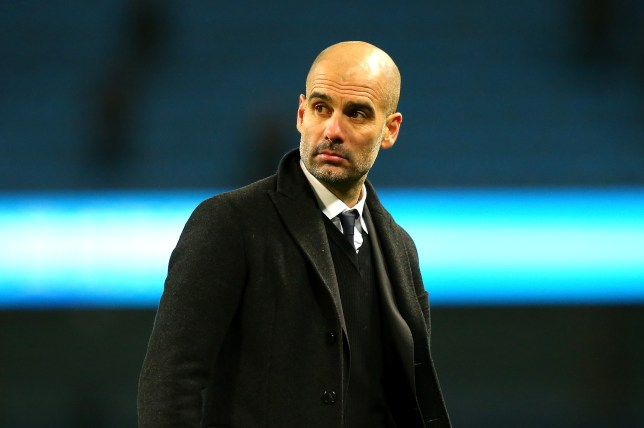 MANCHESTER, ENGLAND - JANUARY 21: Josep Guardiola, Manager of Manchester City looks on after the Premier League match between Manchester City and Tottenham Hotspur at the Etihad Stadium on January 21, 2017 in Manchester, England. (Photo by Alex Livesey/Getty Images)