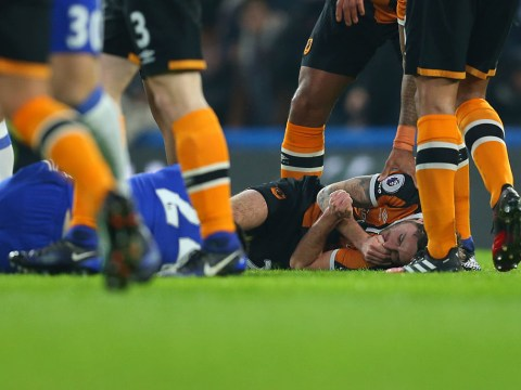 Hull City midfielder Ryan Mason talking again after fracturing skull during Chelsea game
