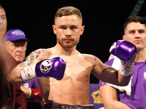 Carl Frampton buys every one of his fans a drink after Leo Santa Cruz defeat in Las Vegas