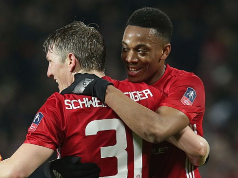 Jose Mourinho plays down Anthony Martial, Luke Shaw and Bastian Schweinsteiger returns for Manchester United