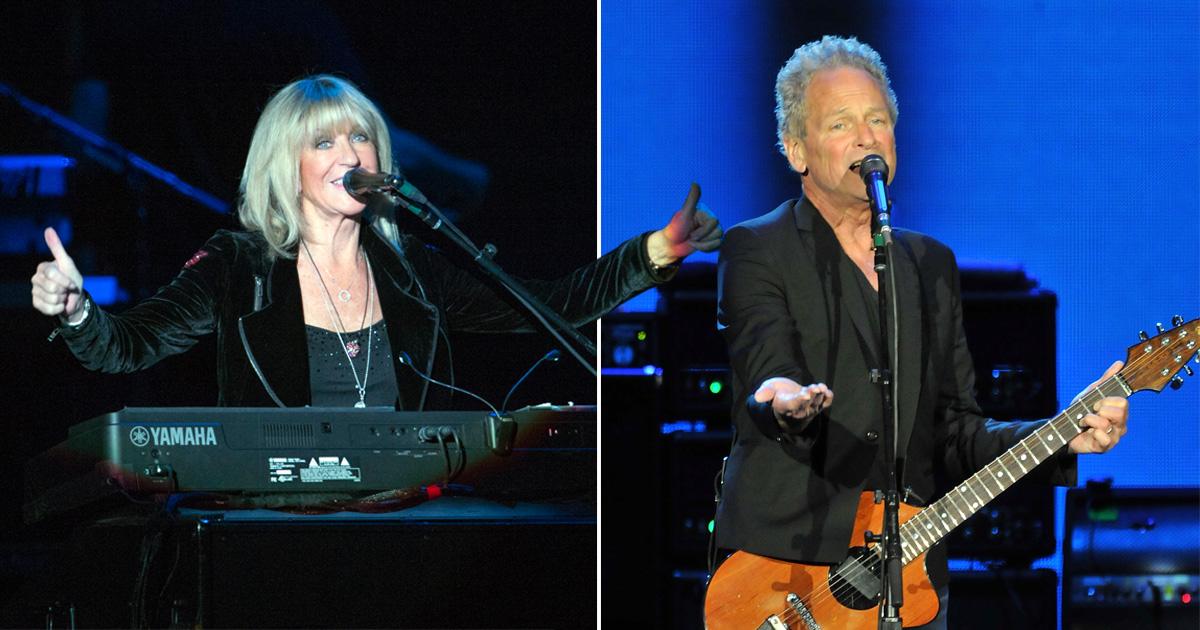 Fleetwood Mac's Christine McVie and Lindsay Buckingham are recording new music
