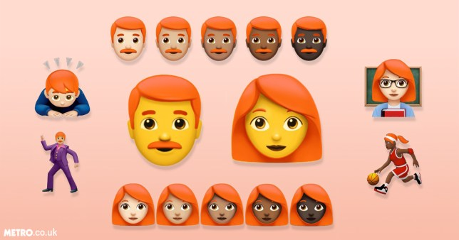 Ginger emoji feature