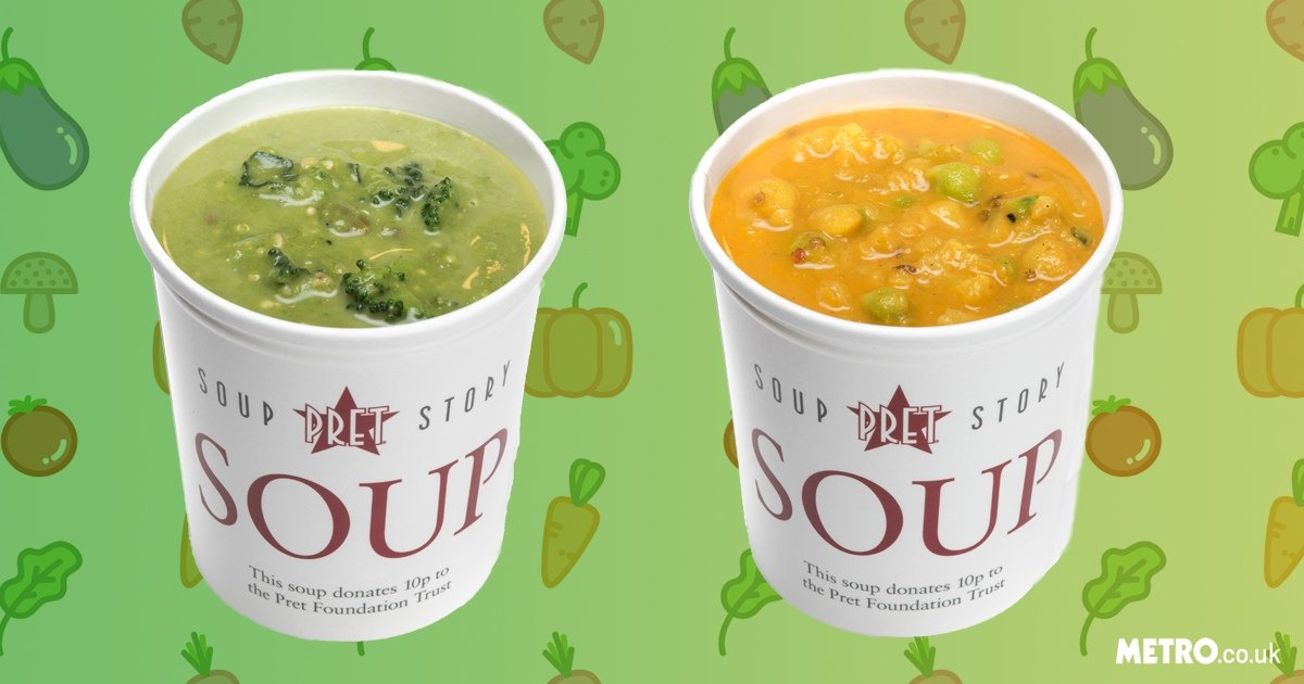 Pret a Manger is launching a new veggie menu to help us all go vegan this Veganuary