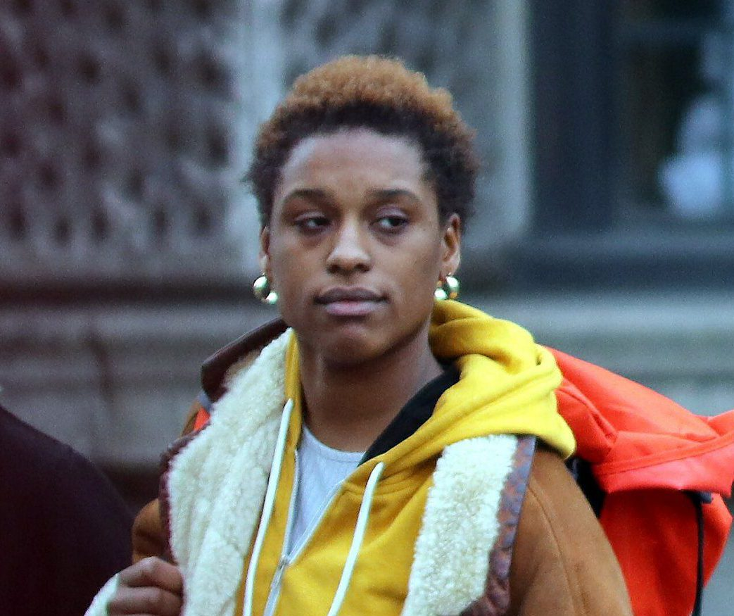 Pic shows Sapphire McIntosh leaving court.. .. Two activists helped 'ruin a wedding' when their group stormed a town hall to protest against gentrification in an area where they didn't even live, a court heard... .. Freelance journalist Sapphire McIntosh, 27, threw eggs while restaurant worker Joshua Virasami, 26, pushed police when a peaceful protest in Brixton, southwest London got out of control... SEE STORY CENTRAL NEWS