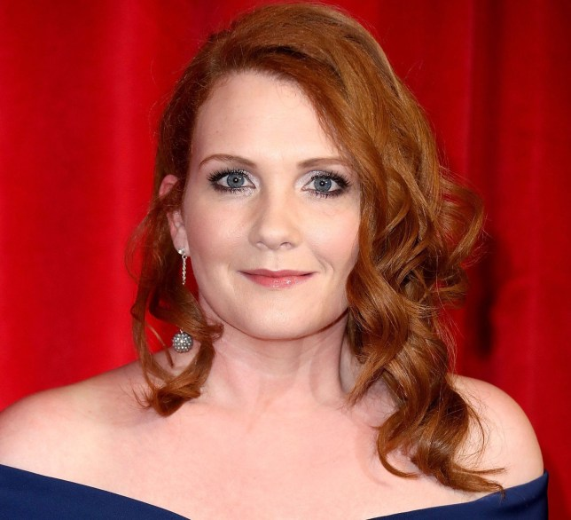 LONDON, ENGLAND - MAY 28: Jennie McAlpine attends the British Soap Awards 2016 at Hackney Empire on May 28, 2016 in London, England. (Photo by Mike Marsland/Mike Marsland/WireImage)