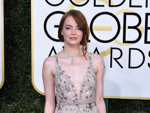 Emma Stone had the sassiest answer for Ryan Seacrest on the Golden Globes red carpet