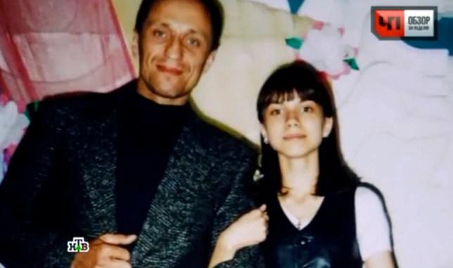 Mikhail Popkov with daughter EkaterinanCredits: NTV/The Siberian Times