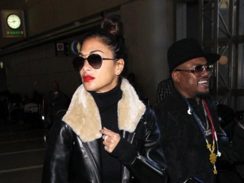 Nicole Scherzinger flies into London with Black Eyed Peas sparking rumours she's the new Fergie