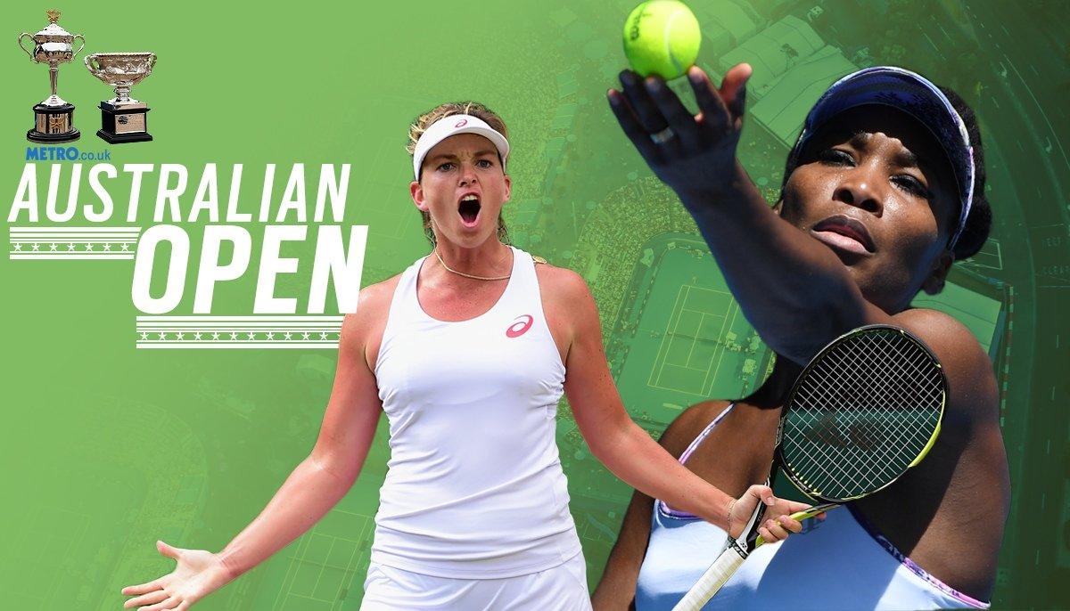 Australian Open semi-final preview: Coco Vandeweghe v Venus Williams