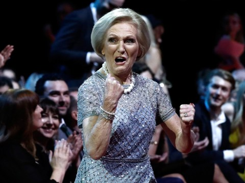 National Television Awards 2017: Mary Berry celebrating her win is all of us celebrating a win