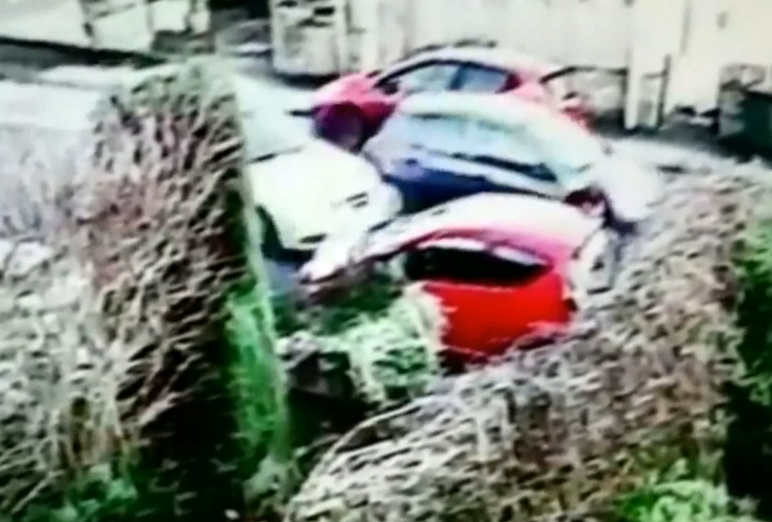 Gran knocked down by two cars picks herself up and heads home to make dinner