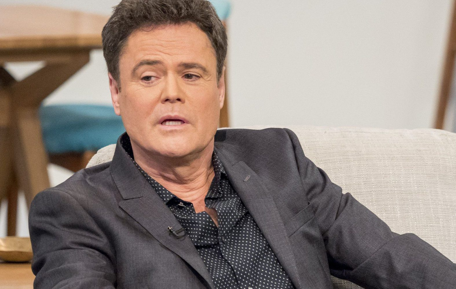 Donny Osmond tried whipping out his best Scottish accent for Lorraine (Picture: ITV/REX/Shutterstock)