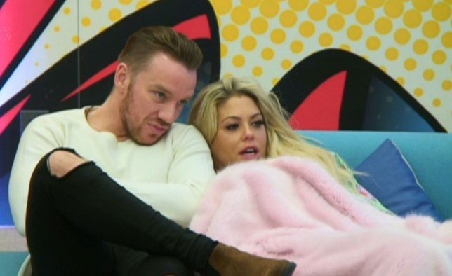 Mandatory Credit: Photo by REX/Shutterstock (8115260t) Jamie O'Hara and Bianca Gascoigne 'Celebrity Big Brother' TV show, Elstree Studios, Hertfordshire, UK - 25 Jan 2017
