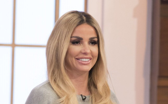 EDITORIAL USE ONLY. NO MERCHANDISING Mandatory Credit: Photo by S Meddle/ITV/REX/Shutterstock (8174316s) Katie Price 'Loose Women' TV show, London, UK - 31 Jan 2017 Ruth Langsford