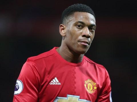 Anthony Martial's entourage annoyed as Manchester United boss Jose Mourinho drops forward for Stoke clash