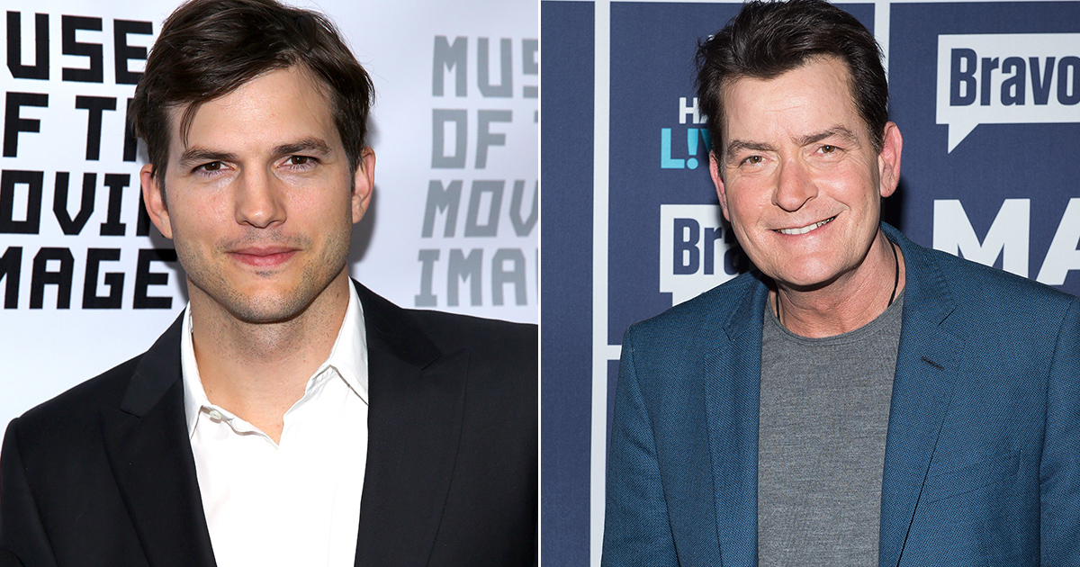 Charlie Sheensays he is 'regretful'for being 'stupidly mean' to Ashton Kutcher
