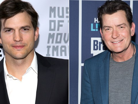 Charlie Sheen says he is 'regretful' for being 'stupidly mean' to Ashton Kutcher