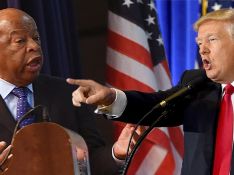 Donald Trump marks Martin Luther King weekend by attacking civil rights hero