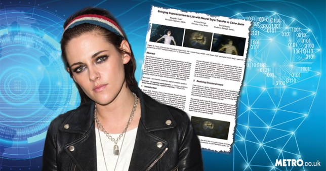 Kristen Stewart has written an academic case study on using artificial intelligence to help animate her new film (Picture: Getty/Shutterstock; Metro.co.uk)