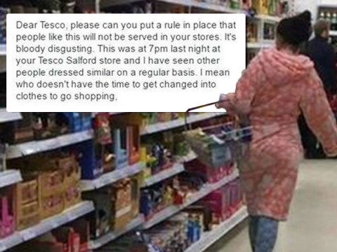 Woman who went shopping in her pyjamas says her critics are 'racist'