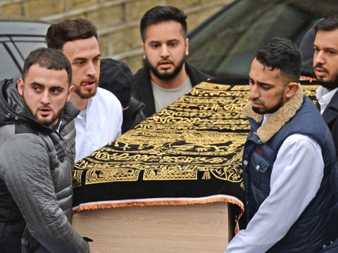 Hundreds turn out for funeral of man shot dead by police on M62