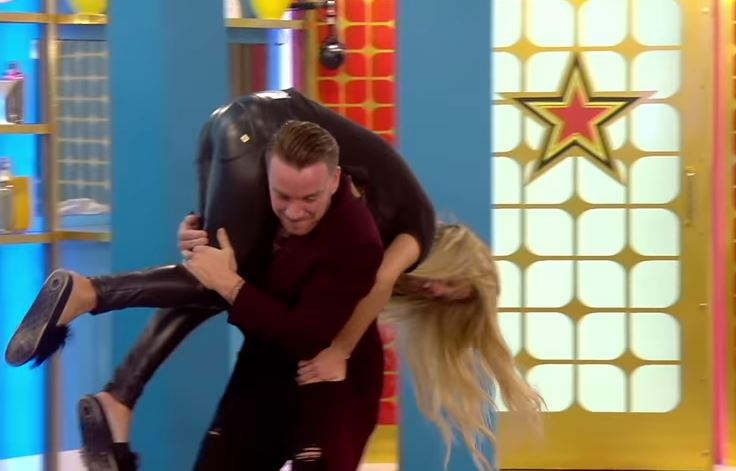 Bianca and Jamie are back in the toilets again (Picture: Channel 5)