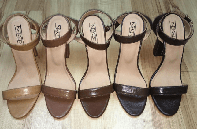 5882a1e470d9 Kahmune has launched a range of nude shoes for every skin tone ...