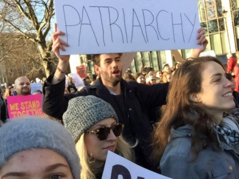 Protesters helped this woman find her #EqualityBae from the Women's March